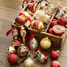 Christmas Tree Ornaments & Trim