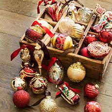 Christmas Tree Ornaments and Trim