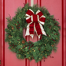 christmas wreaths garlands on sale