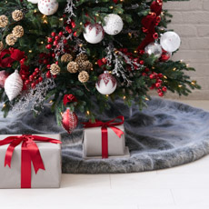 christmas tree skirts - Christmas Tree And Decorations