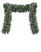 Garlands 5-7ft