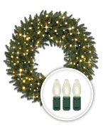 battery operated wreaths battery operated wreaths christmas wreaths offered prelit - Pre Lit Christmas Wreaths Battery Operated
