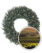 Napa Christmas™ Signature Wreaths and Garlands Collection