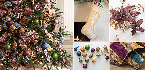 napa jewel revel in rich jewel tones that add vibrance to your beautiful holiday home shop now