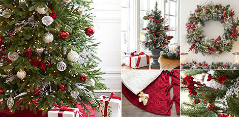 red white sparkle add a sparkling touch to your yuletide celebrations with holiday accents in red white and silver shop now